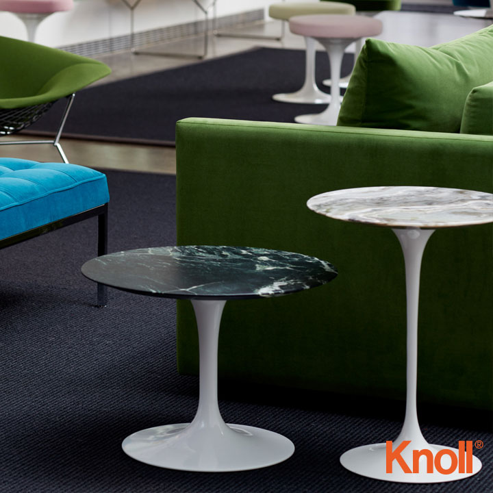 Knoll International Saarinen Tulip Beistelltisch