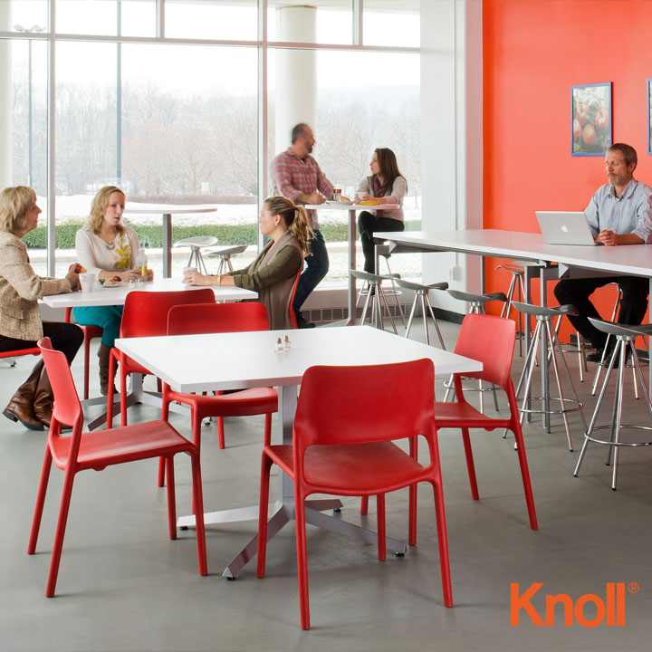 Knoll International Spark Stapelstuhl