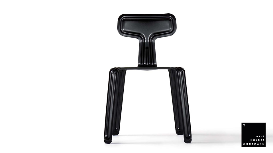 Nils Holger Moormann Stuhl Pressed Chair