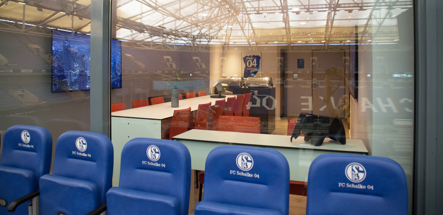 Referenz lounge veltins Arena