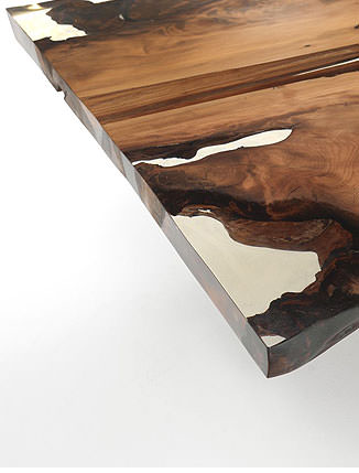 riva 1920 cube tisch aus kauri holz drifte wohnform