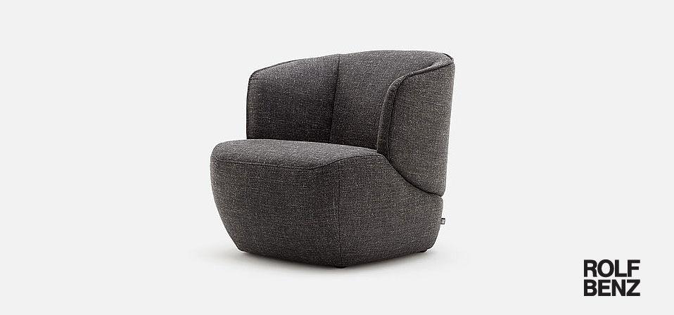 Rolf Benz Sessel 384 Drifte Wohnform