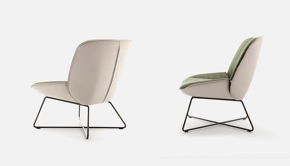 Rolf Benz Sessel 383 Drifte Wohnform