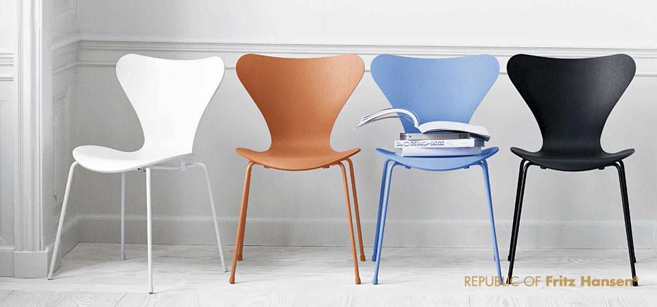 Die Serie 7 Stuhl In Neuen Farben Drifte Wohnform