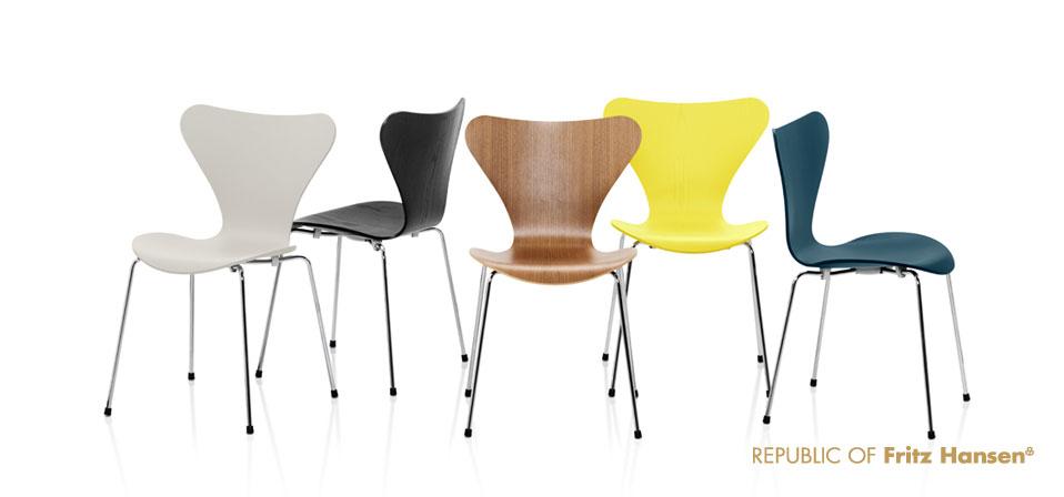 Die Serie 7 Stuhl 3107 Drifte Wohnform