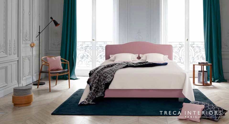 Treca Interiors Paris Bett Louis XV