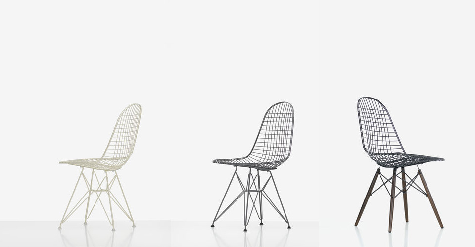 Vitra Wire Chair Charles & Ray Eames