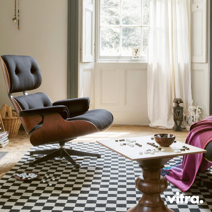 Vitra Lounge Chair & Ottoman