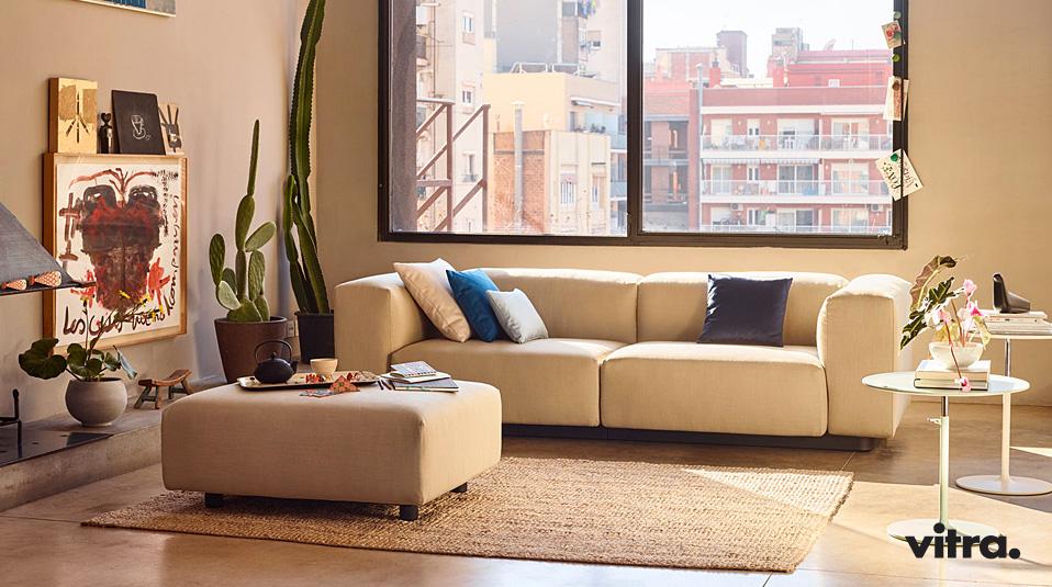 Vitra Soft Modular Sofa Jasper Morrison Drifte Wohnform