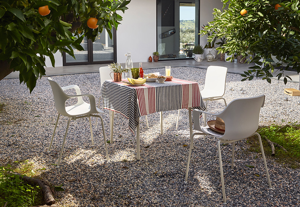 Vitra White Collection HAL Familie
