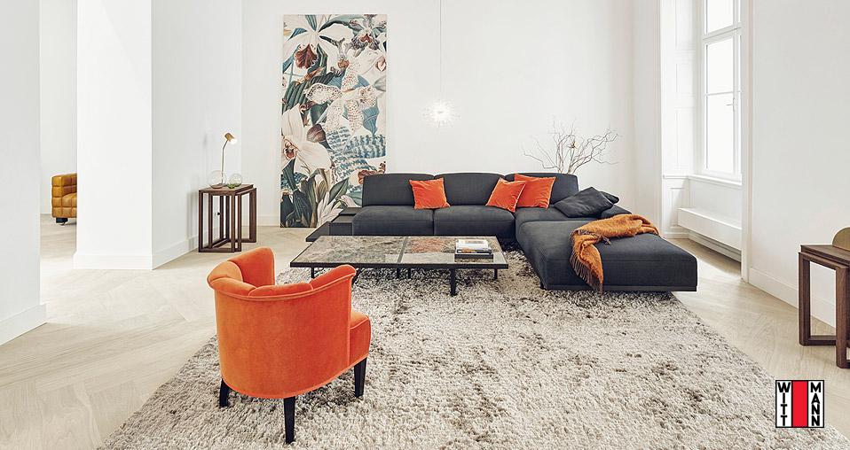 Wittmann Sofa Palais Drifte Wohnform